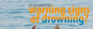 blog header do you know the signs of drowning person's fingertips just above water
