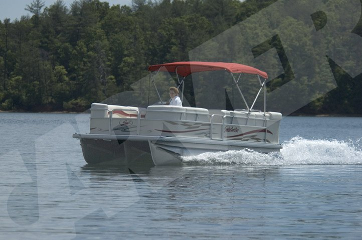 Pontoon Bimini Top Replacement Canvas Boat Lovers Direct