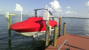 Rick's Sea Ray boat cover
