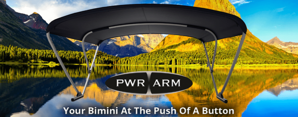 The Pwr Arm Bimini Top A Great Addition Boat Lovers