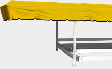 Covertuff Boatlift Canopy Cover (yellow)