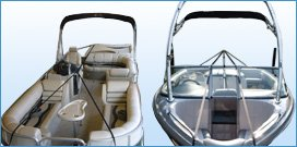 Photo of Y-Strap Boat Cover Support