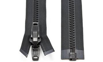 Automatic Locking Marine Grade Fabric Nylon and Metal Zippers