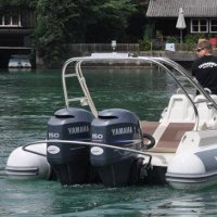 Turbo Swing Twin Outboard
