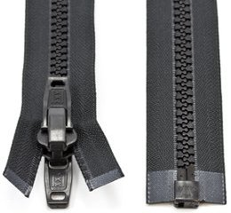 Marine Grade Double Pull Nylon Zipper
