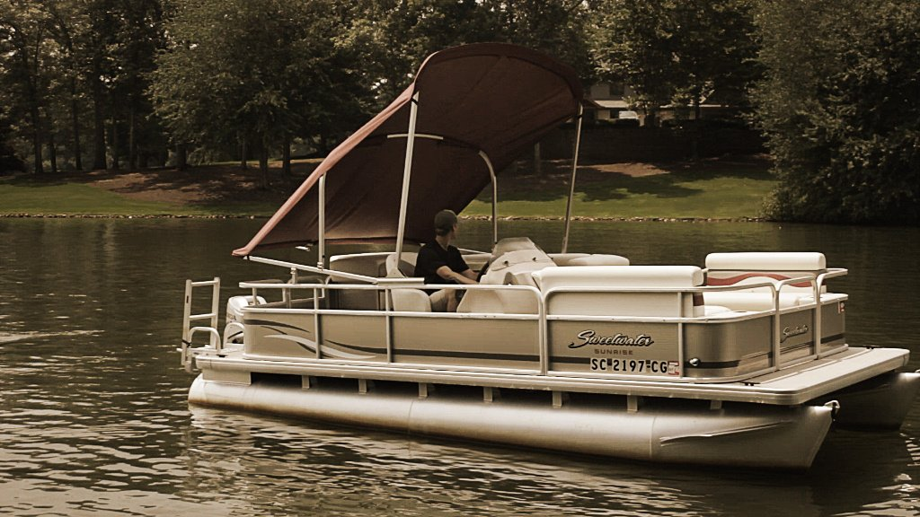 In-Depth Feature & PWR-ARM II Automatic Powered Pontoon Bimini Tops