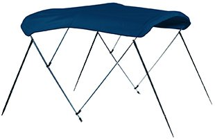 Marine Blue Carver Bimini Top - 3 Bow