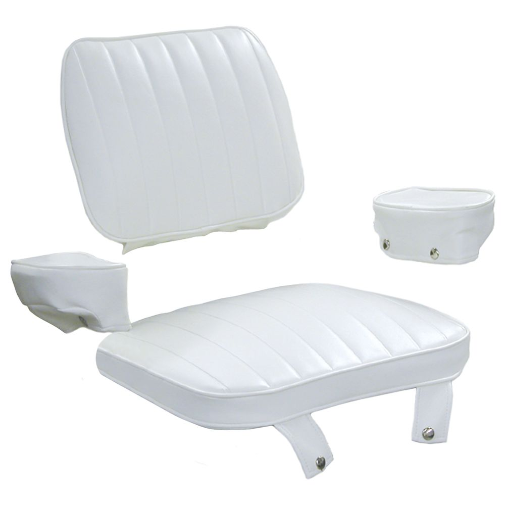 8wd1007 2 Cushion Set Only 4 Pc For Captains Chair W