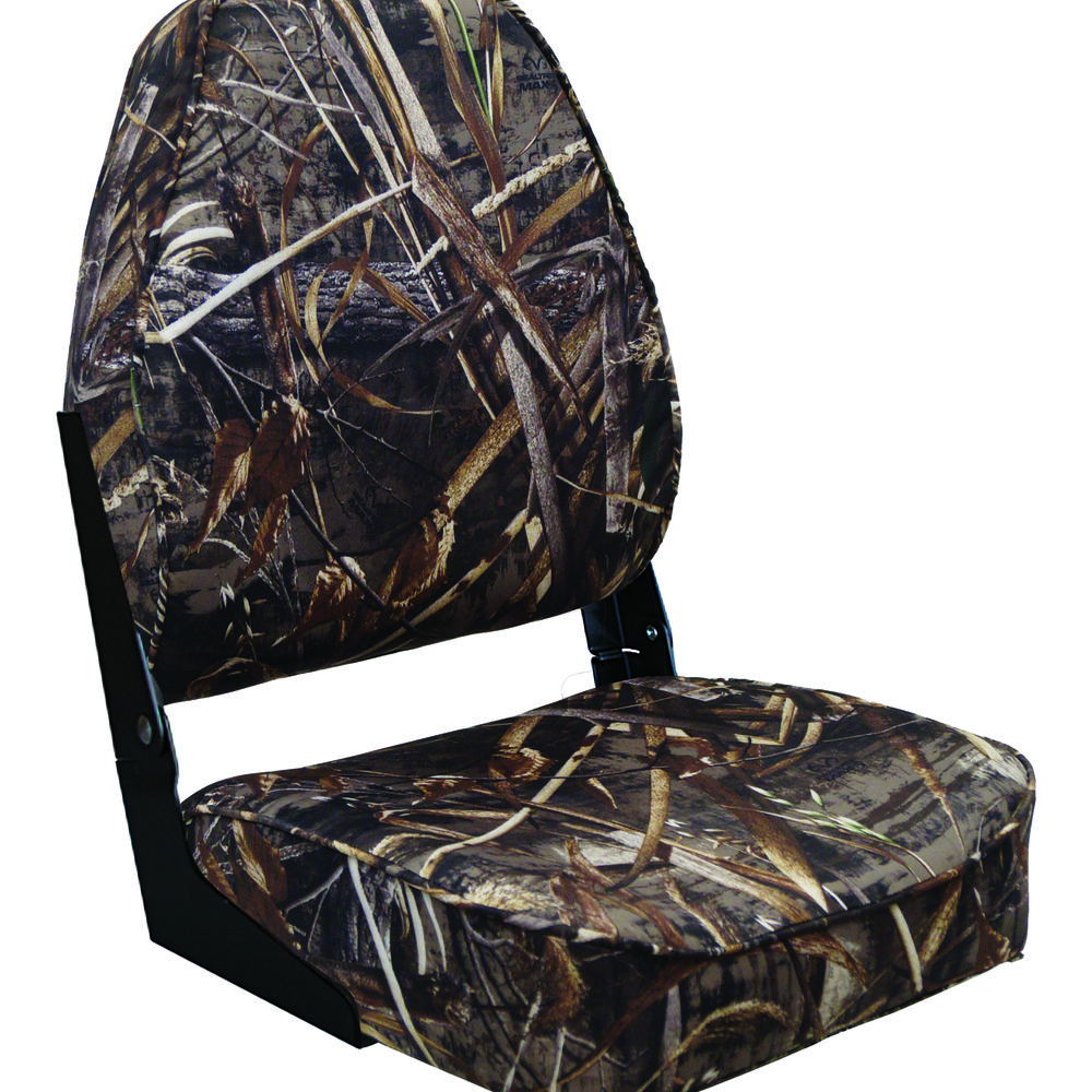 8wd617pls Camouflage Camo Low Back High Backed Folding