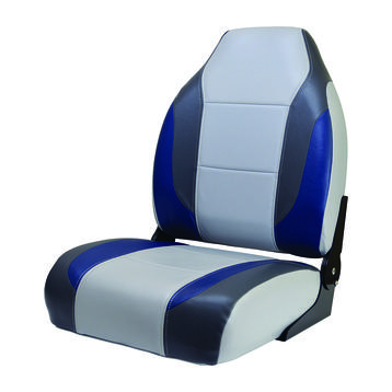 * State-of-the-Art, High-Impact Plastic Frames * Compression Foam Padding * Heavy-Duty 28 oz. Marine Grade Vinyl * Mildew Resistant & UV Treated * No-Pinch Aluminum Hinges * 5 Year Warranty on Frame * 3 Year Warranty on Upholstery Image