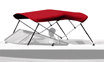 Westland Bimini Top on Mastercraft Boat