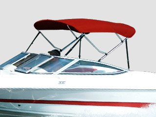 Carver Bimini Top on Boat