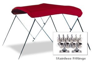 Stainless Steel Bimini Top with Fittings