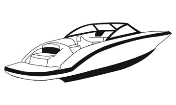 Illustration of a V-Hull with Walk-Thru Transom