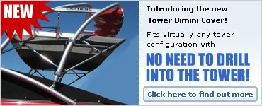 Universal Tower Bimini Top